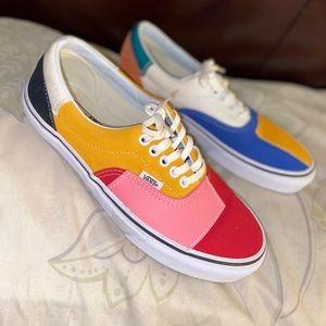 Multi-colored Vans